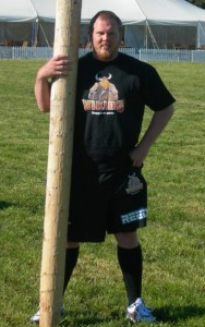 Moe Westmoreland Highland Games competitor