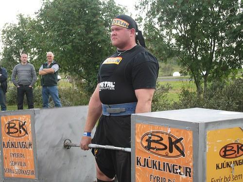 Strongman Stefan Solvi Petursson - Deadlift