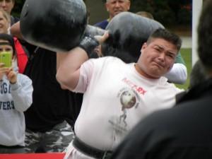 Paul Pirjol - International Strongman - One Big Dumbell