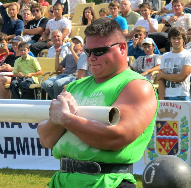 Paul Pirjol - International Strongman from Romania