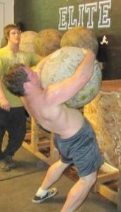Zack Atlas Stone Training