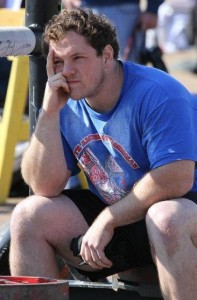Zack MCarley National American Strongman champ
