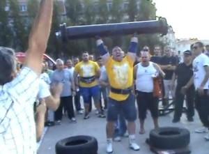 Bruno Leal - Loglift 120kg
