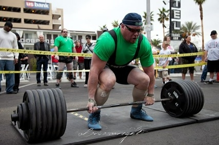 Jeremy Hogg - International Strongman Competitor