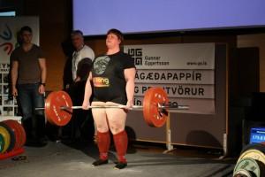 Rósa Birgisdóttir Icelandic Rising Strongwoman