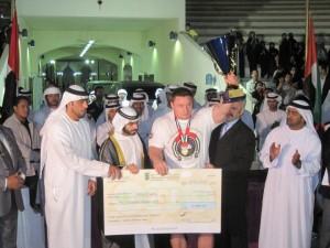 Krzysztof Radzikowski - World Strongman Cup - Abu Dhabi Winner