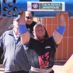 Strongman Frankie Scheun LogLift