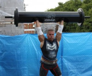Rauno Heinla - Log Press - Strongman Event