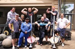 Jordan Steffens Strongman - Training Crew
