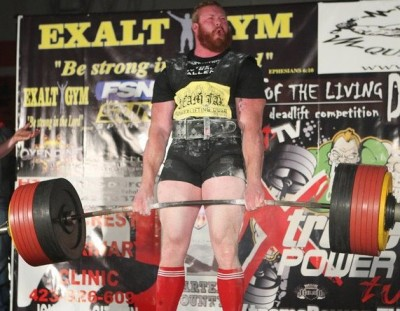 Vince Urbank Strongman - Deadlifting