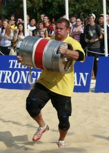 Rauno Heinla - Estonia's Strongest Man 2011 - International Strongman