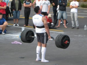 Colm Woulfe Deadlifting