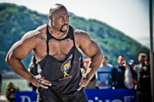 Strongman Mark Felix at Britains Strongest Man 2008