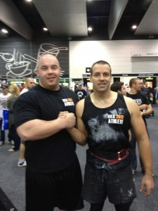 Strongman Mike Jenkins