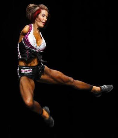 No Excuses – An Interview with Barbie Thomas Fitness Competitor