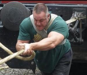 Strongman Richard van der Linden