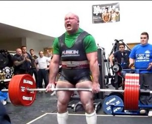 Andrew Cairney 2012 British Champion Powerlifter