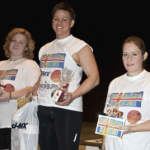 Bryndis Olafsdottir winning 2011 Icelands Strongest Woman