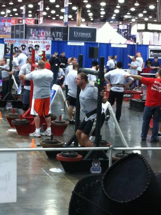 Usa Strongman Derek Devaughan The Hunt For The Pro Card Viking Strength