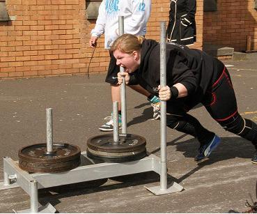 Icelandic Strongwoman Thora