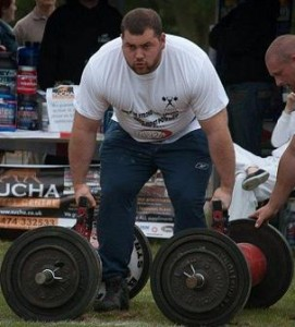 Strongman Chris Gearing