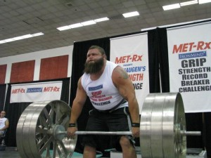 Robert Oberst Strongman Axle