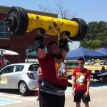USA Strongman Aaron Brown