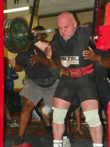 Didier Michelon Squatting