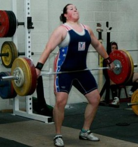 Sarah Robles Weightlifting