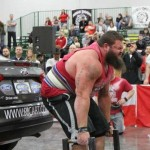 Robert Oberst Car Deadlift