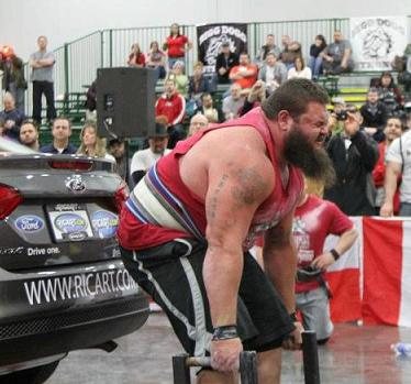 Big Man, Big Future, Big Heart – US Strongman Robert Oberst