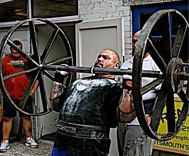 Rob Frampton Strongman