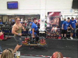 Farmers Walk at 2012 Britain's Strongest Woman