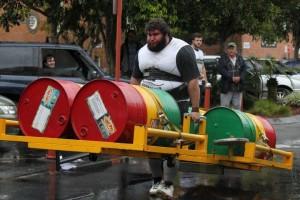 Australian Strongman Dan Macri