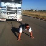 Nick Maloni -Truck Pull Practice