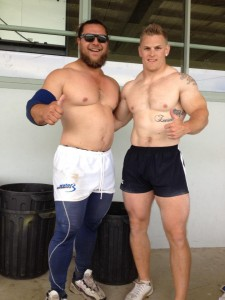 Nick Maloni and another top competitor Darren Lang