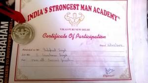 India SM Cert